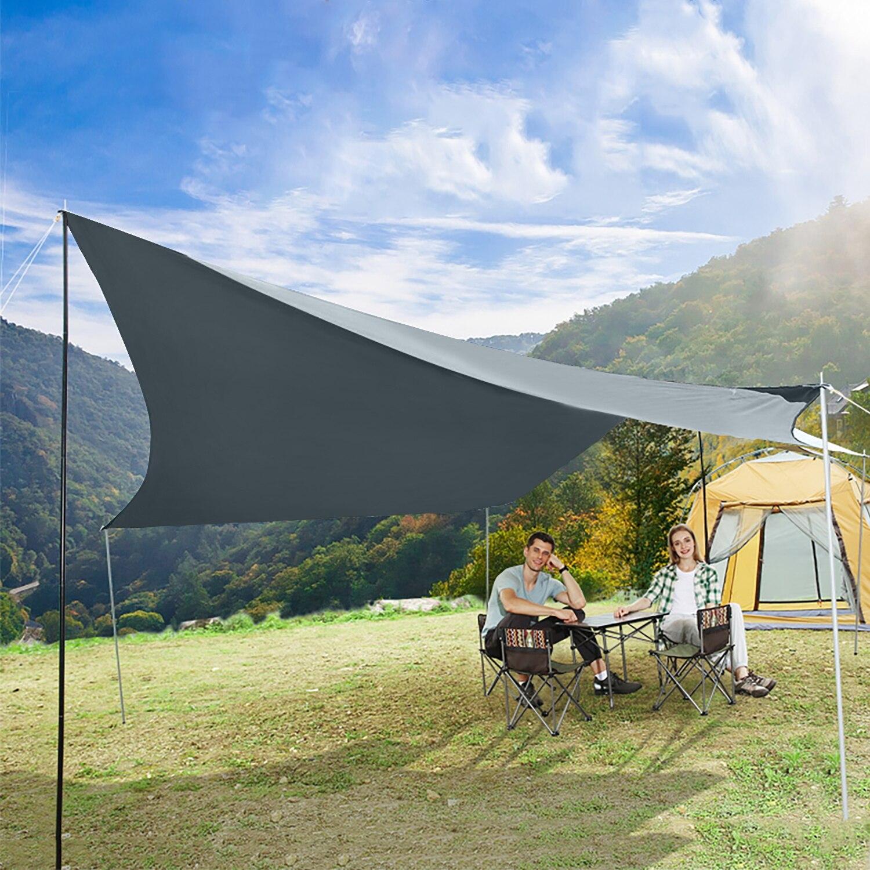 Солнце тень укрытие водонепроницаемость патио сад тень парус УФ блок крышка бассейн навес кемпинг пикник палатка навес открытый солнцезащитный крем