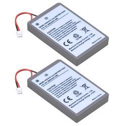 2 шт., батарея 3,7 в 2000 мА · ч для Sony PS4, Slim, Bluetooth, два ударных контроллера, вторая серия