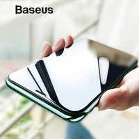 Baseus Protector de pantalla de 0,23mm para iPhone Xs XR Xs Max 2018 vidrio Protector de cobertura completa vidrio templado para iPhone X Anti espía