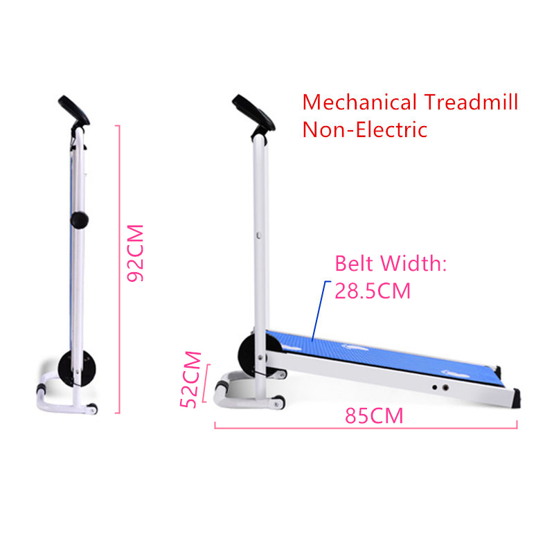 JayCreer Mechanical Treadmill Machine Non-Electric Pay Attention To Non-Electric Capacity About 90KGS Herbal Products