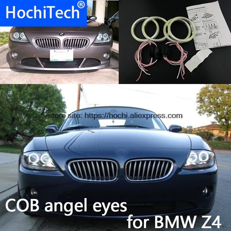 High Quality COB Led Light White Halo Cob Led Angel Eyes Ring Error Free for BMW Z4 E85 E86 2002-2008