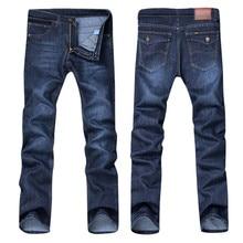 Мужские повседневные осенние джинсовые хлопковые хип-хоп свободные рабочие длинные брюки, джинсовые брюки