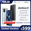 2021 Новый ASUS Zenfone 8 глобальная версия Snapdragon 888 8/16GB Оперативная память 128/256 ГБ Встроенная память 5,9 ''IP68 воды-доказательство Android OTA 5G для мобильно...