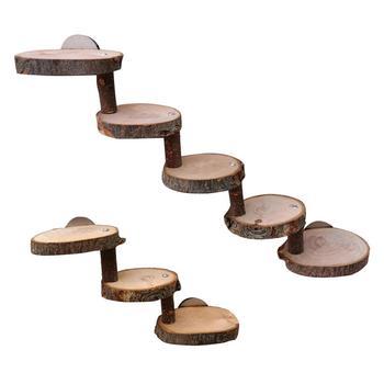 Hamster Toy Wooden Bridge Supplies Eco-friendly Ladder Mini Pet Climbing Stair