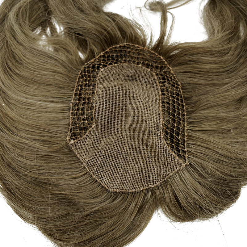 Custom Made Fish Net Women Tupee Natural Human Hair