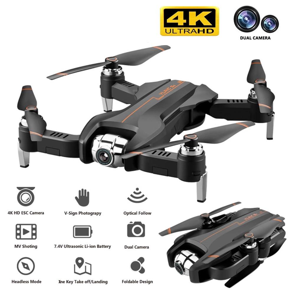 Drone 4K caméra HD 1080P WIFI FPV drone hauteur entretien quadrirotor point fixe surround RC hélicoptère drone caméra dron