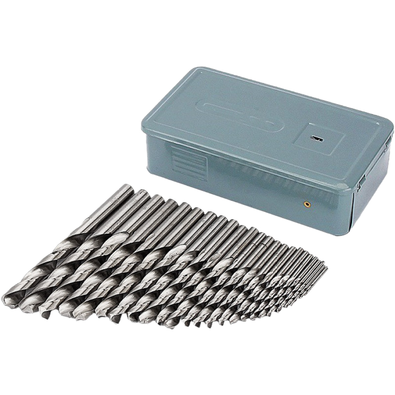 SZS Hot 25 SERIES PARTS Mini Stainless Steel Hss-G Drill Co Twist Drill Set Cobalt Metal Drill Cobalt