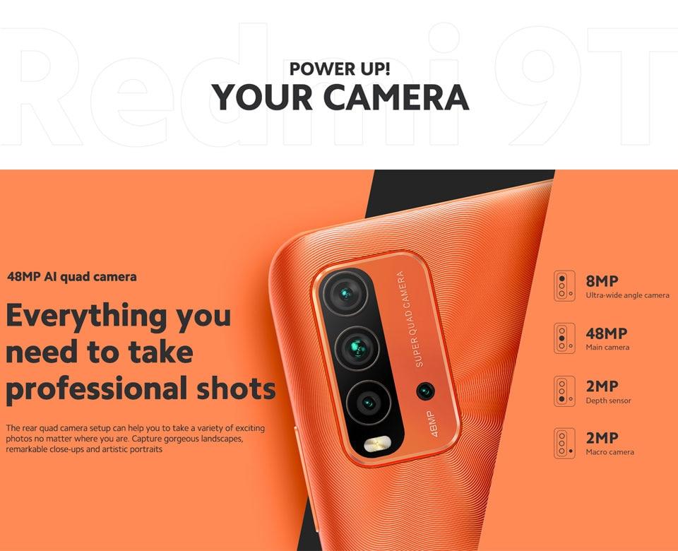 Redmi 9T 4+128GB Smartphone