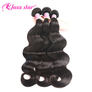 Image 2 - Peruvian Hair Bundles with Closure Body Wave Bundles with Closure 3 Bundles with Closure Queen Mary Non Remy 100% Human Hair