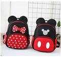 Детская школьная сумка Disney с Микки Маусом, Детский рюкзак для мальчиков и девочек, плюшевая сумка с Минни, мультяшный ранец, детские подарки