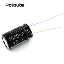 5 Pcs/lot Polouta Aluminium Electrolysis Direct Plug Capacitors Components 4700UF 35V 18x30mm Kits In-line Super Capacitor