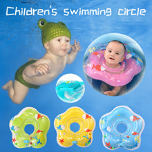 Pool-Floats Inflatable with Baby Swimming-Ring Dolphin for Away Give Kids Summer