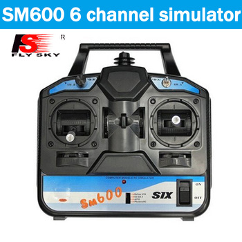 Flysky RC Simulator FS-SM600 6CH USB simulator Support G6 G7 XTR FMS For 3D Helicopter Airplane mode 1/mode2 Sm600 seed xds510plus simulator dsp simulator ti simulator