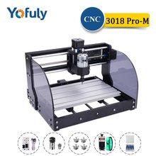 CNC 3018 Pro Max bricolage gravure Machine Laser graveur 3 axes GRBL fraisage Laser bois routeur PCB PVC Mini CNC 3018 Crave graveur