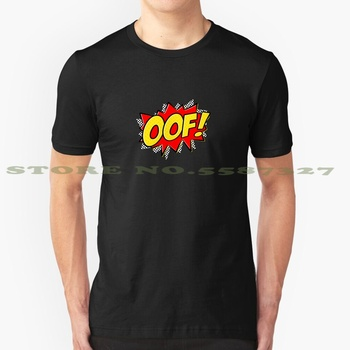 Oof! - Action Comic Fashion Vintage Tshirt T Shirts Oof Comic Action Comic Comics Death Sound Platnix Platnixfox Comic Actions image