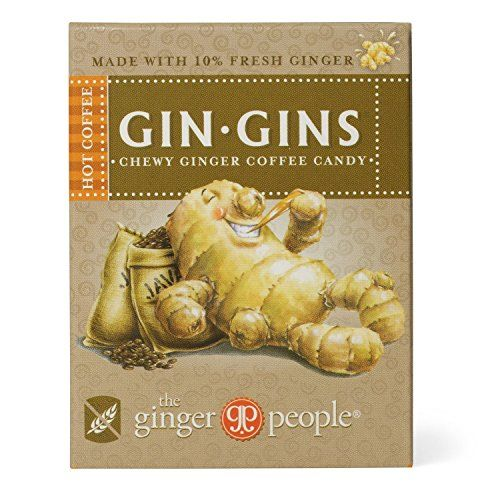 The Ginger People Hot Coffee Chewy Ginger Candy 42g (Pack Of 1)