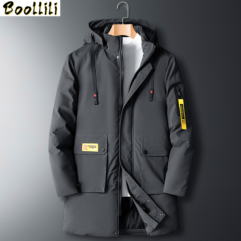 Plus Size 8XL Black Winter Cotton Jacket Men Thicken Warm Long Hooded Parkas 2020 Casual Windbreaker Waterproof Men Down Jacket
