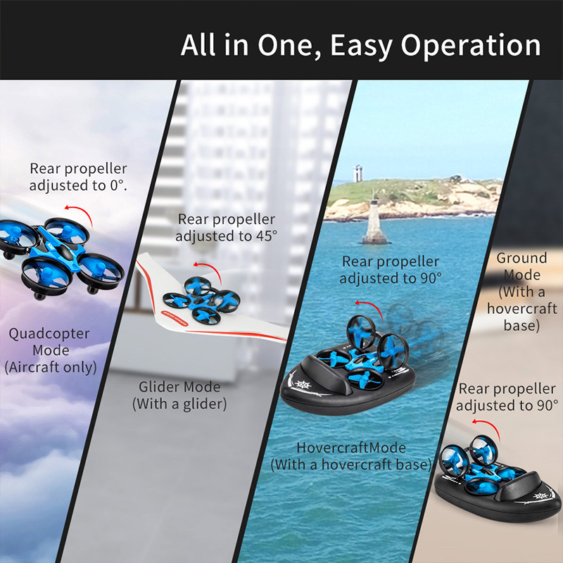 All in One Easy Drone Operation - Boat or Plane