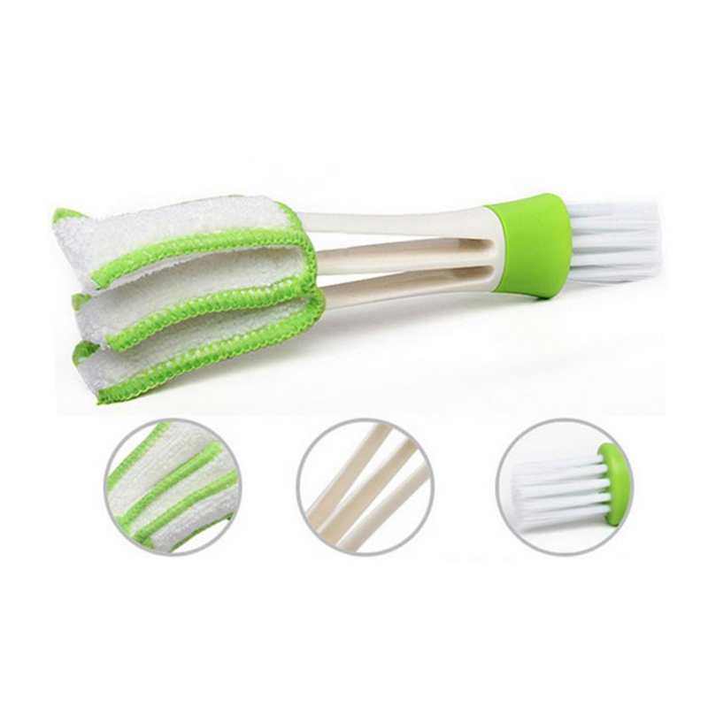 Window Blinds Double Brush Cleaner Multifunction For Households Keyboard Cleaning Brush