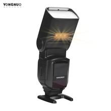 YONGNUO YN968N II פלאש Speedlite עבור Canon ניקון DSLR תואם עם YN622N YN560 אלחוטי TTL Speedlite 1/8000 עם LED אור