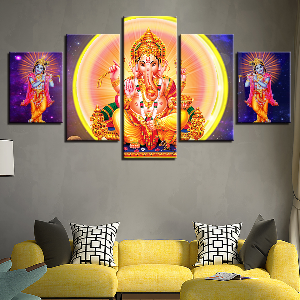Hbee712478dc645f2af85a7e0362995d3B Canvas HD Prints Paintings Wall Art Home Decor 5 Pieces Welcome Dropshipping Wholesale We Can Provide All The Pictures