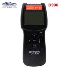 2017.6 نسخة D900 Obd2 الماسح الضوئي D900 رمز القارئ أداة تشخيص Canbus D 900 Eobd Obd2 الماسح الضوئي للسيارات متعددة أدوات السيارات