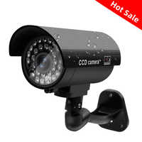 Fake Dummy Camera Outdoor Mini Camera Bullet Waterproof Home security video Security CCTV Surveillance Camera Flashing Red LED