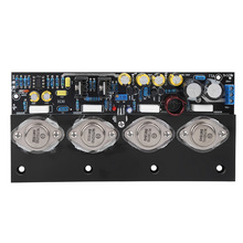 Amplifier Board 20W Power Amplifier Board No Feedback Full DC Class A Household Amplifier Board 1pair pass am single ended class a power amplifier board 10w with balanced input finished board