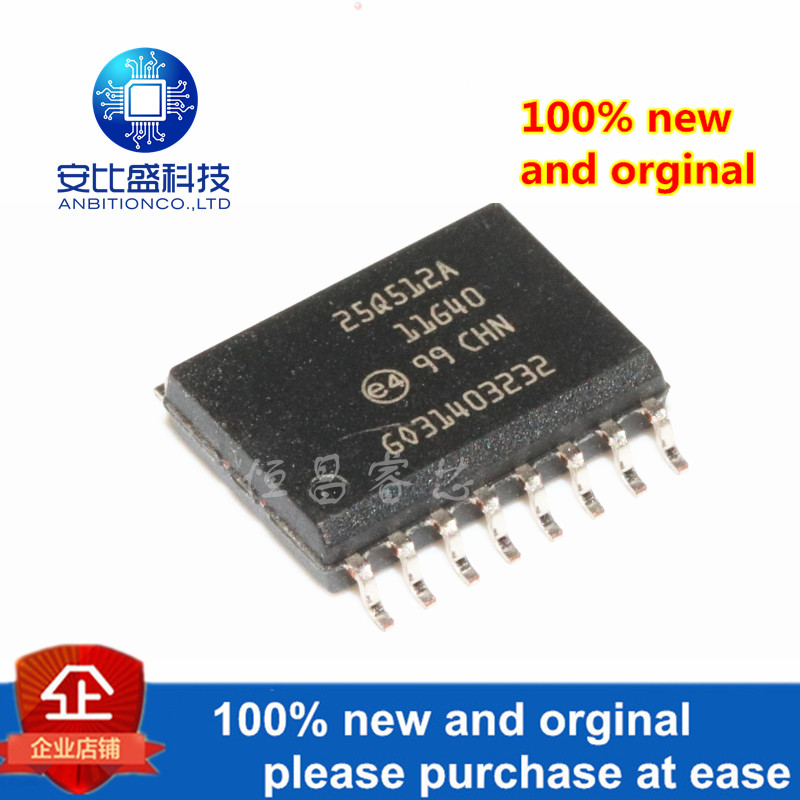1pcs 100% New And Orginal N25Q512A11GSF40F Silk-screen 25Q512A11G40 512Mbits In Stock