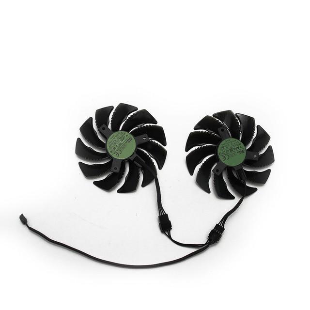 87MM T129215SU 4Pin GTX1660 GTX1660Ti ventilateur de refroidissement pour Gigabyte GTX 1660 1660Ti GAMING OC 6G carte graphique refroidisseur ventilateur