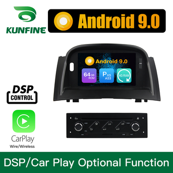 Android 9.0 Octa Core 4GB RAM 64GB ROM Car DVD GPS Navigation Multimedia Player Car Stereo for Renault Megane II 2004-2009 radio image