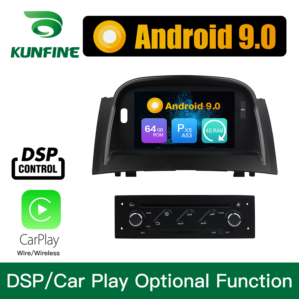 Android 9.0 Octa Core 4GB RAM 64GB ROM Car <font><b>DVD</b></font> <font><b>GPS</b></font> Multimedia Player Car Stereo for Renault <font><b>Megane</b></font> II 2004-2009 <font><b>Megane</b></font> <font><b>2</b></font> image