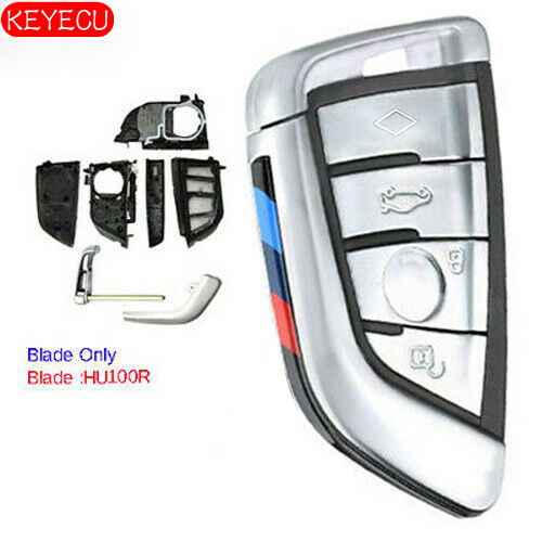 Smart Remote Key Shell Case Fob for BMW for G20 G30 G32 G11 G15 G29 2015-2019