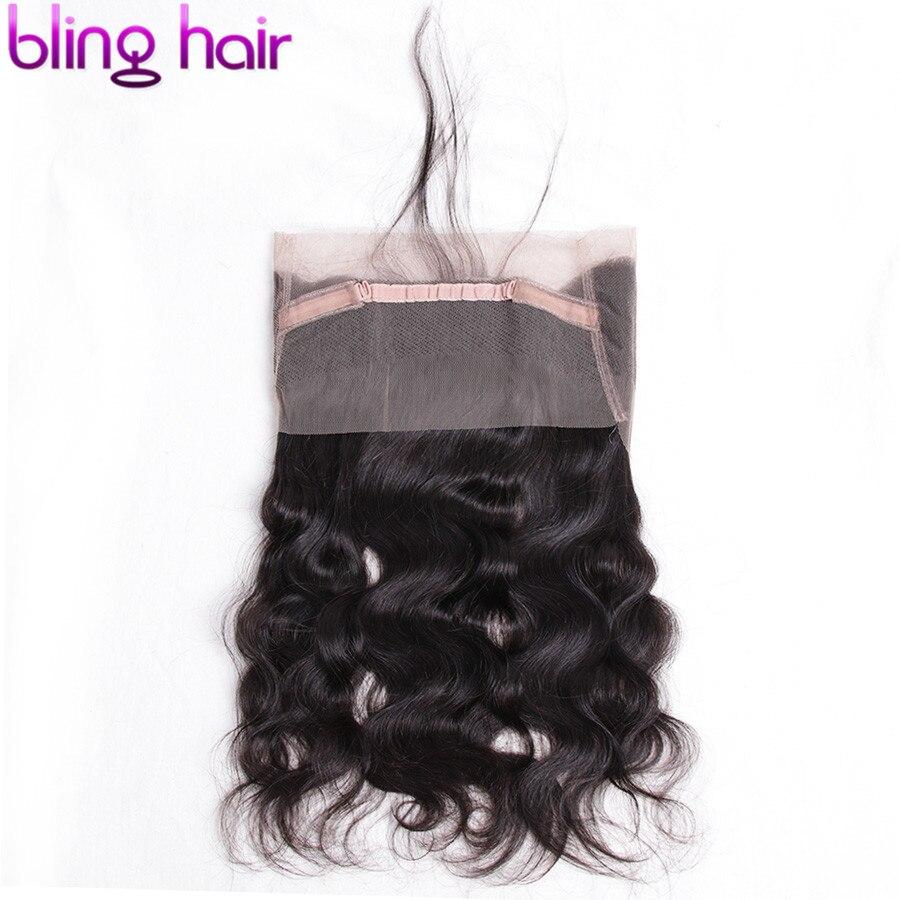 Шикарные волосы бразильские волнистые волосы 360 кружевные фронтальные свободные части 100% Remy человеческие волосы с детскими волосами естес...