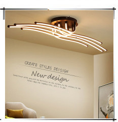 Hbee94d947e4a4fbb94233b693bd4b0aay Modern Minimalism High brightness LED ceiling lights rectangular bedroom Livingroom aisl Ceiling lamp lighting lamparas de techo