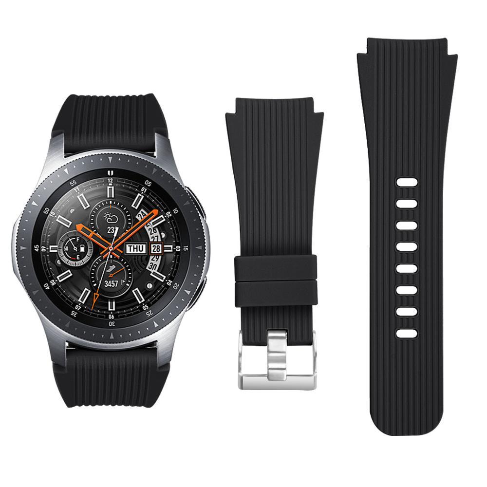 Силиконовый ремешок для Samsung Galaxy Watch 46 мм Gear S3 Classic Frontier официальный сменный ремешок для часов Galaxy Watch 46 мм 22 мм