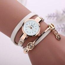 Las mujeres Relojes de pulsera reloj de cuarzo Relogio femenino Mujer de cuero de la marca de lujo Relojes Para Mujer Casual pulsera de moda de la muñeca