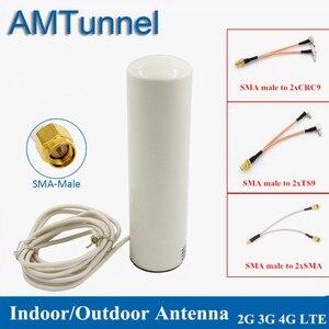 Image 1 - Thiết Bị Phát Wifi Anten 3G LTE Modem Antena 3M 2.4GHz antenne 12dBi 2 * SMA/2 * TS9/2 * CRC9 nam cho Huawei B315 E8372 E3372 Router