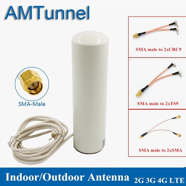 Thiết Bị Phát Wifi Anten 3G LTE Modem Antena 3M 2.4GHz antenne 12dBi 2 * SMA/2 * TS9/2 * CRC9 nam cho Huawei B315 E8372 E3372 Router