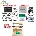 Herramienta de sintonización de Chip ECU FGTECH Galletto 4 V54 coche camión V1255 BDM100 ecus programmer BDM marco pruebas plantilla para BDM100 fgtech Chip