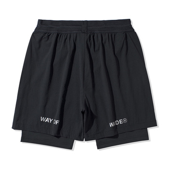 Li-Ning Men Wade Series Track Shorts 77.4%Nylon 22.6%Spandex li ning LiNing Regular Fit Sports Fitness Shorts AKSQ051 2