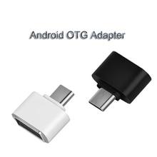 USB 3,0 type-C OTG адаптер Micro USB OTG конвертер для Redmi Xiaomi huawei samsung мышь клавиатура USB флэш-диск адаптер OTG