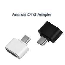 USB 3.0 Type-C OTG Adapter Micro USB OTG Converter For Redmi Xiaomi Huawei Samsung Mouse Keyboard USB Flash Disk Adapter OTG(China)