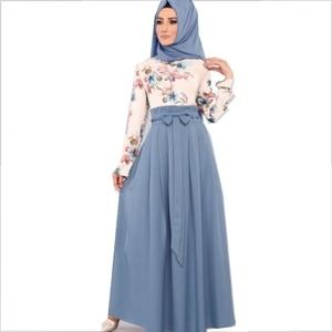 Islamic Clothing Jilbab Kaftan Turkish Clothing Open Abaya  De Moda Musulmana Abayas for Women Dubai