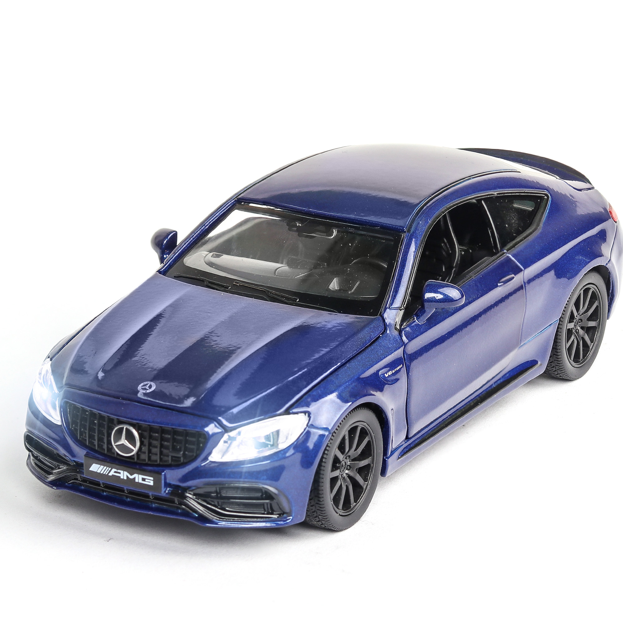 New 1:32 BENZ AMG C63S Alloy Car Model Diecasts & Toy Vehicles 4 Doors Can Be Opened Car Educational Toys For Children Gifts Boy