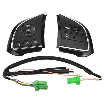 Steering Pad Cruise Audio Radio Switch for Mitsubishi Outlander 2016-2018 8616A076 8602A134