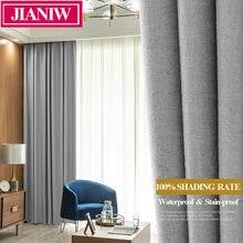 Светонепроницаемые шторы jianiw 100% занавески для гостиной