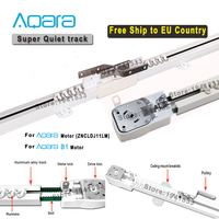 Free to EU Country Super Silent Electric Curtain Track for Aqara/Aqara A1/B1 motor,Aqara Smart Home Curtain Rail Control System