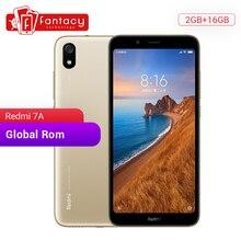 Xiaomi Redmi 7A 7 A с глобальной ПЗУ, 2 ГБ, 16 ГБ, 5,45 дюйма, HD Snapdargon 439, Восьмиядерный мобильный телефон, аккумулятор 4000 мАч, камера 13 МП, смартфон