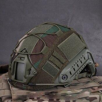 Чехол для спортивного шлема для страйкбола, охоты (тактический военный шлем), чехол для шлема типа CS, военная игра для Ops-Core PJ/BJ/MH, Быстрый Шлем